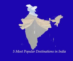 popular destinations in India