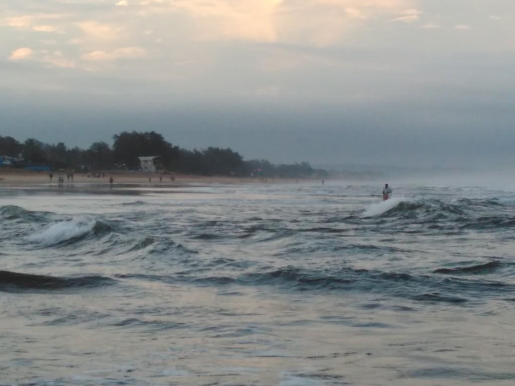 Beautiful Baga Beach, Goa.