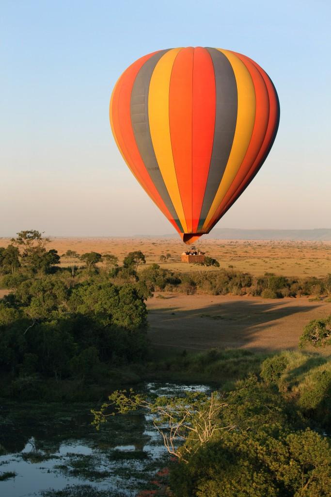 Africa_Kenya_Hot air ballooning