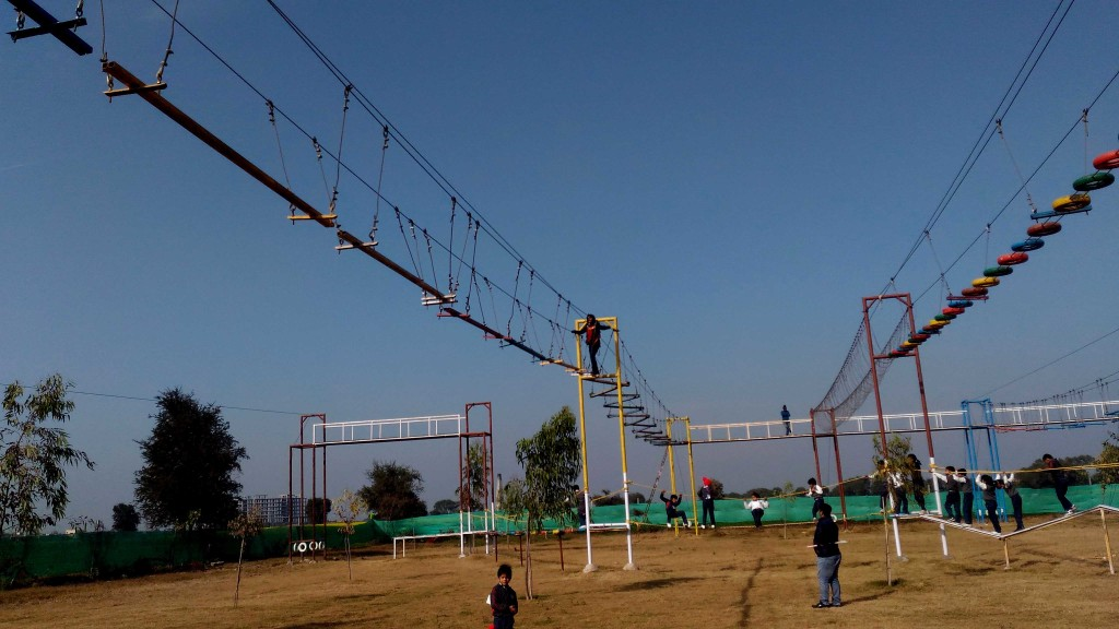 adventurous activities near delhi