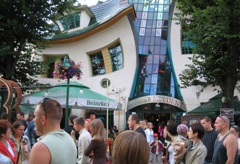 places to party in poland