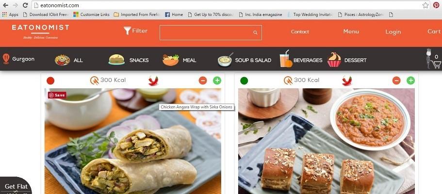 order healthy food