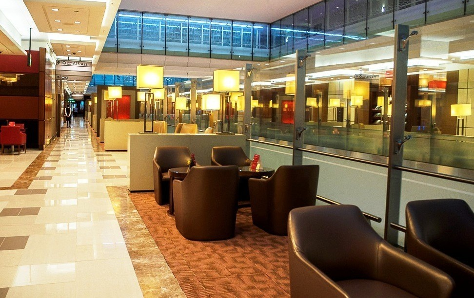 business class lounge dubai airport