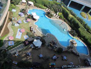 Hyatt Mumbai pool