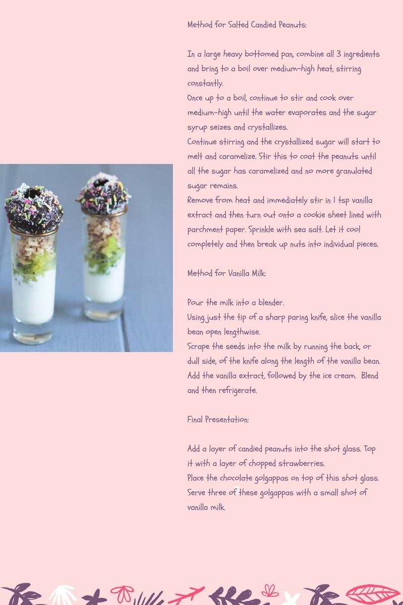 Chocolate golgappa recipe