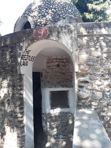 Beatles Cave Rishikesh