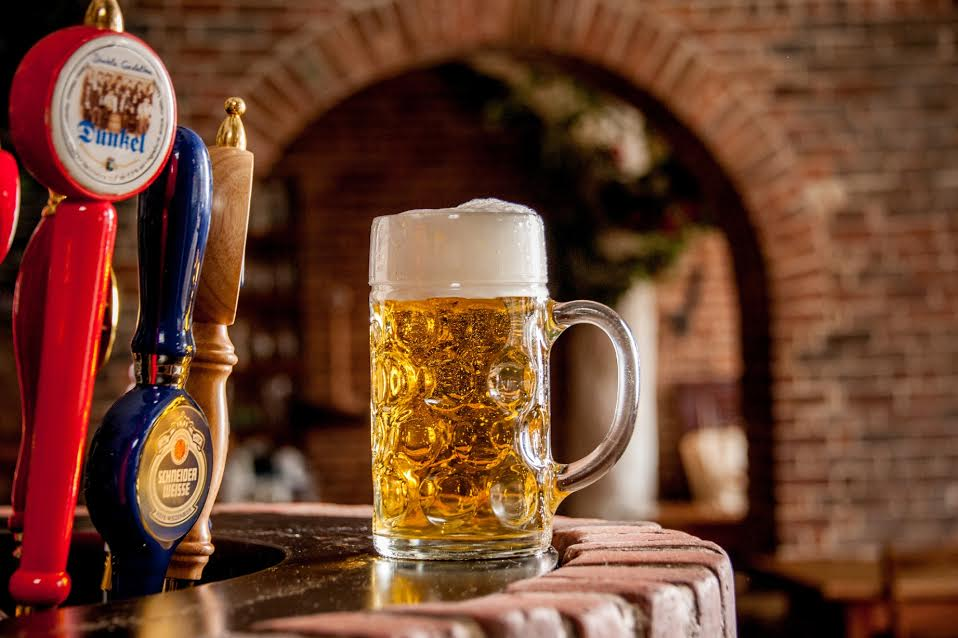 german beer, shopping in Frankfurt